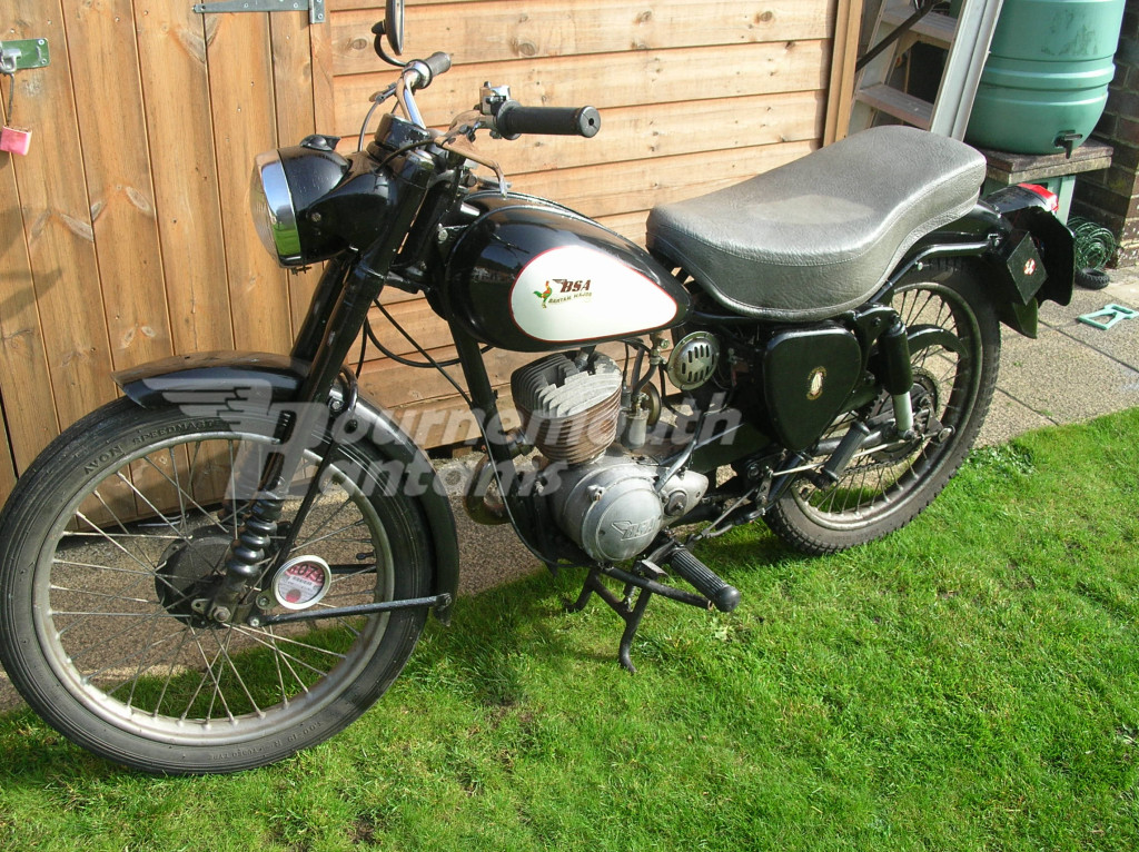 1956 D3 swinging arm Bantam